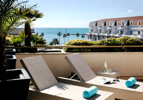 Hotel Barriere Le Gray d'Albion in Cannes