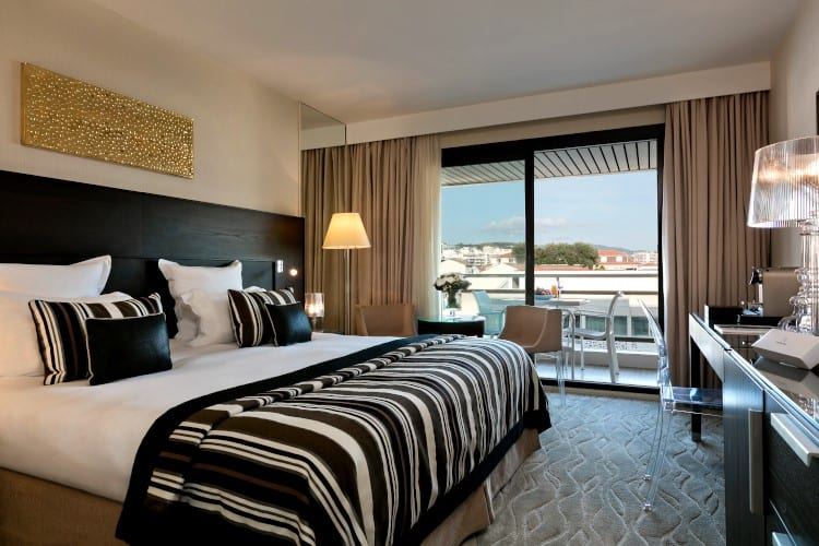 Suite at Hotel Barriere Le Gray d'Albion in Cannes