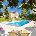 Outdoor pool Domaine de La Bretesche Golf & Spa