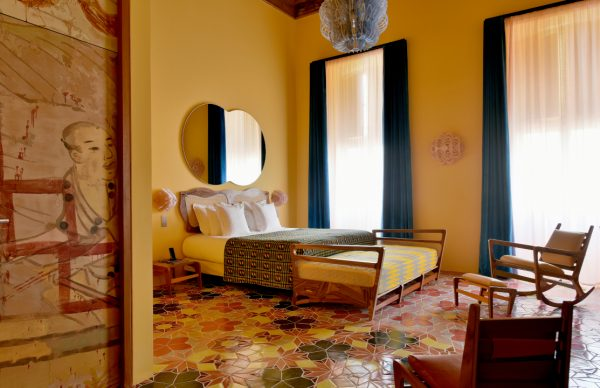 Arlatan yellow room The Little Guest Hotels collection
