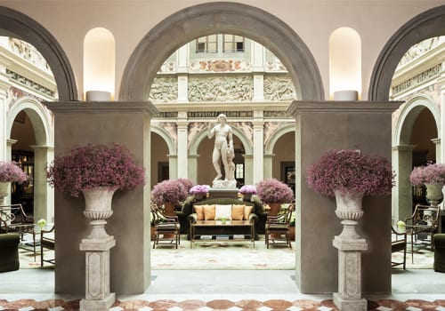 Inspiring architecture at the Four Seasons Hotel Firenze in Italy