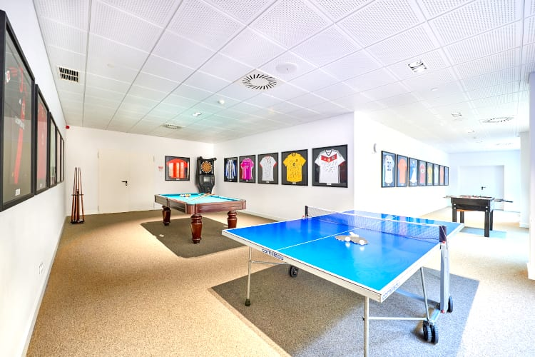Game room of Cascade Wellness & Lifestyle Resort