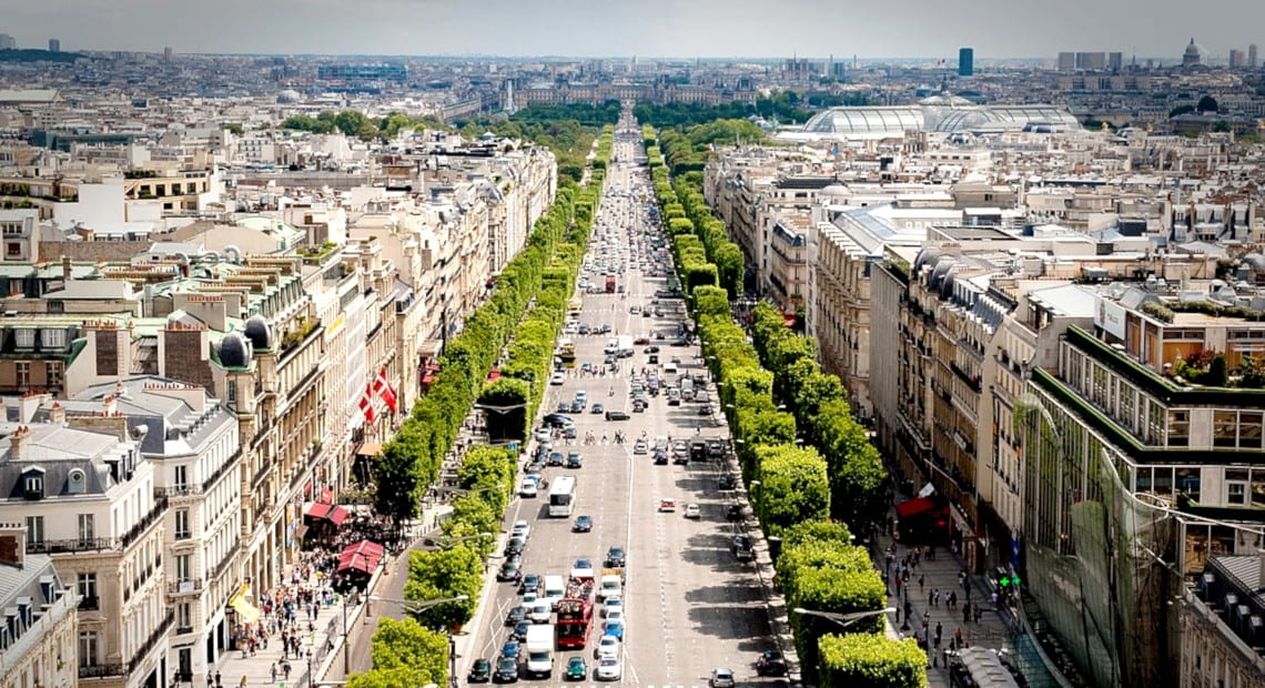 Champs-Elysees Paris
