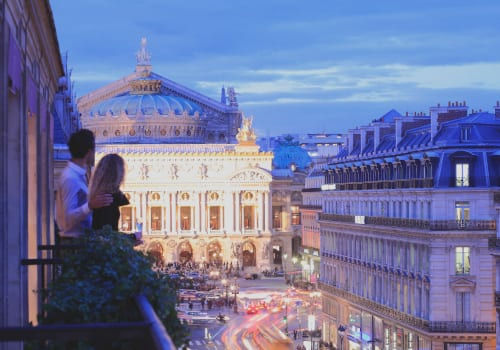 View of Opera Garnier in Paris Edouard 7 Hotel