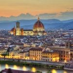City of Florence view from Four Seasons Hotel Firenze