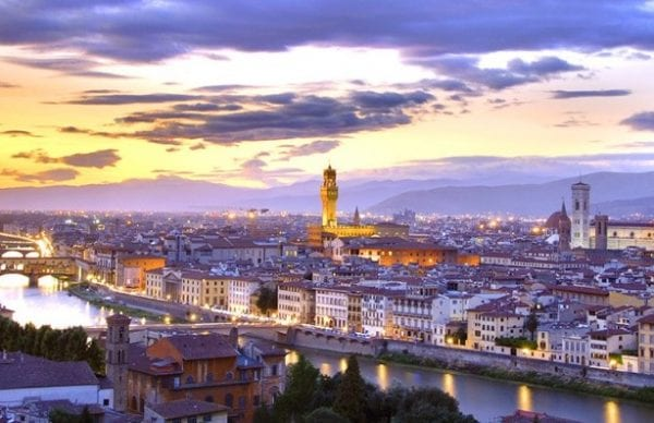 City of Florence seen from Four Seasons Hotel Firenze