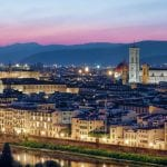 Florence seen from Four Seasons Hotel Firenze