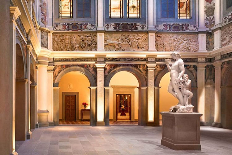 Stunning architecture of the Four Seasons Hotel Firenze