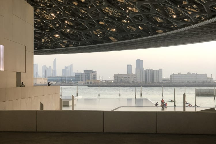 Saadiyat Rotana Resort and Villas  Louvre museum Abu Dhabi
