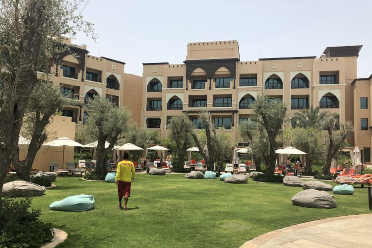 Saadiyat Rotana Resort and Villas Outside Garden Lifeguard