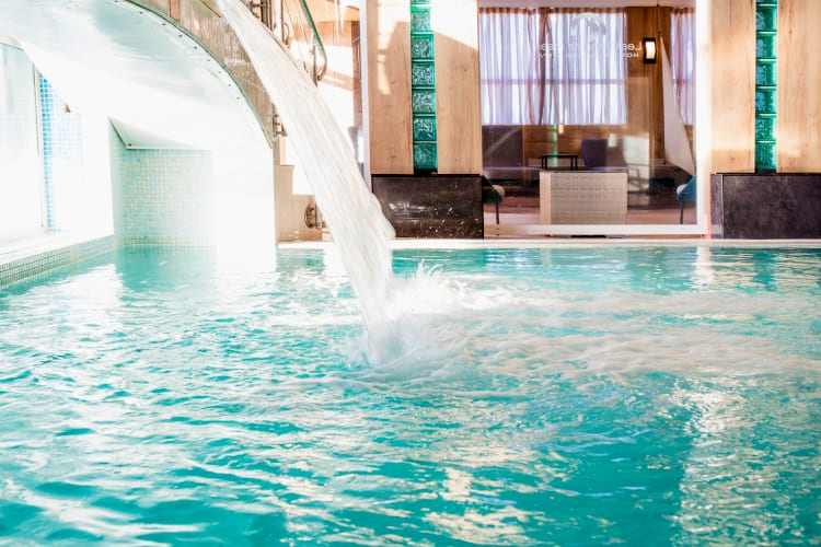 Spa of the The Flamants Roses hotel