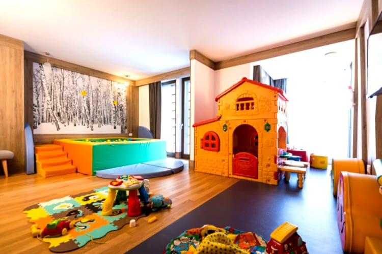 Kids-club of the Mirtillo Rosso Family Hotel