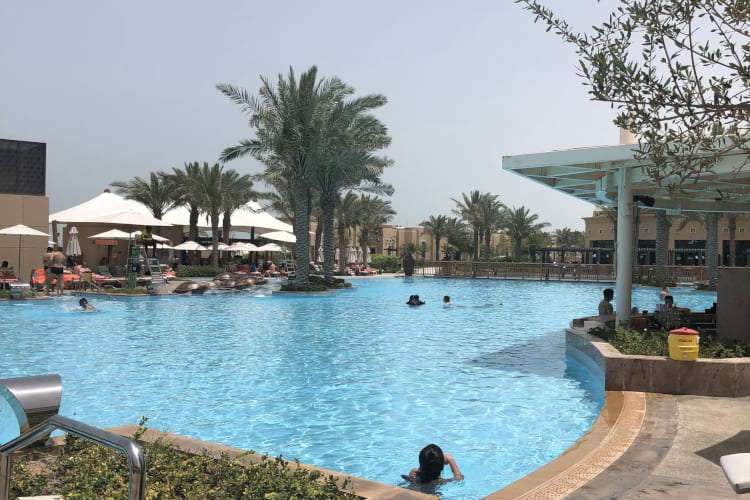 Saadiyat Rotana Resort and Villas Outside Pool