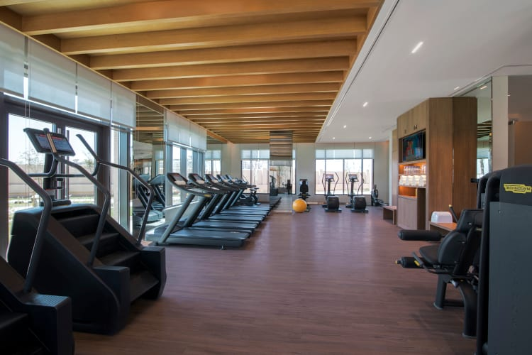Fitness club of the Saadiyat Rotana Resort & Villas hotel