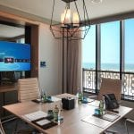 Saadiyat Rotana Resort and Villas Meeting room with a view