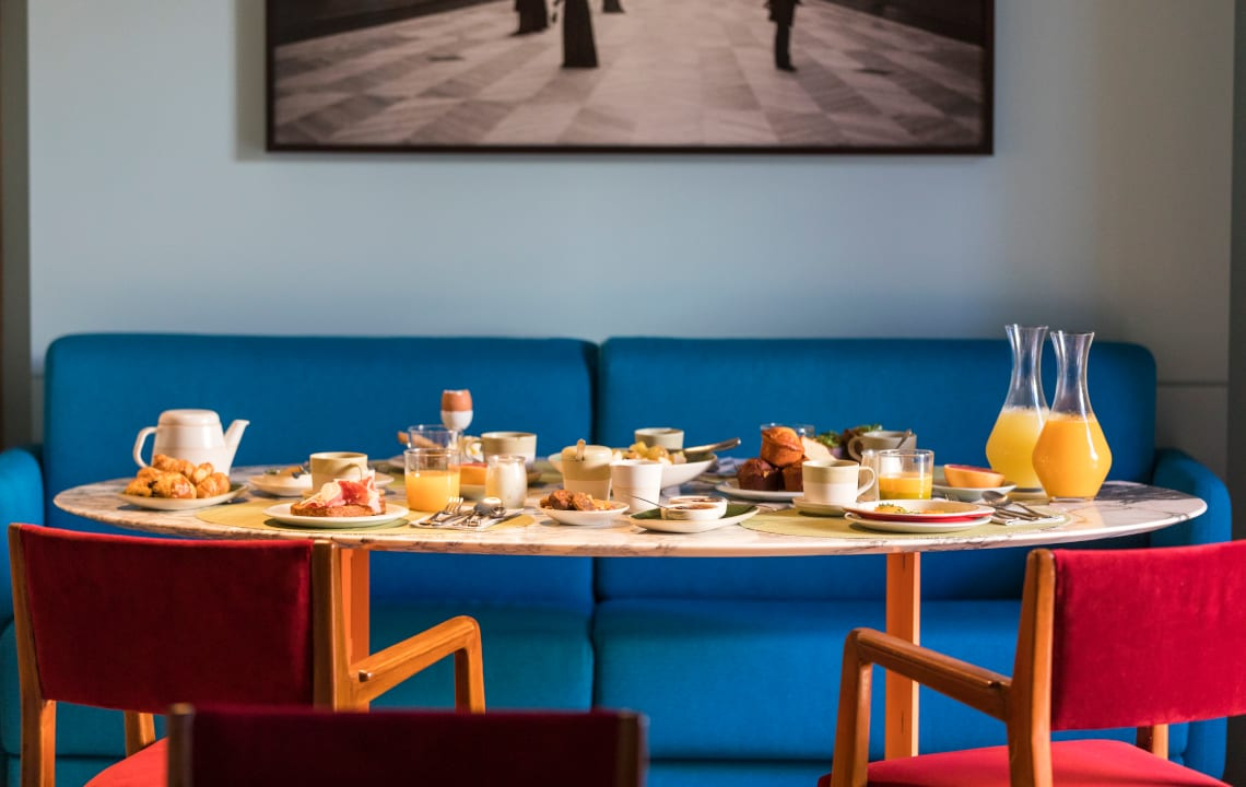 Arlatan Hotel breakfast The Little Guest Hotels collection