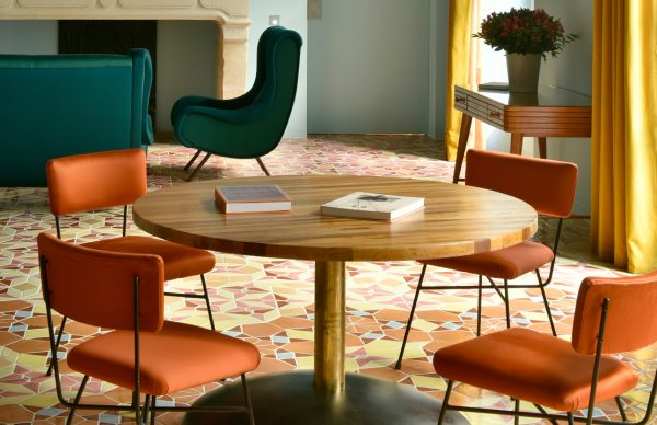 Arlatan Hotel table design chairs The Little Guest Hotels collection