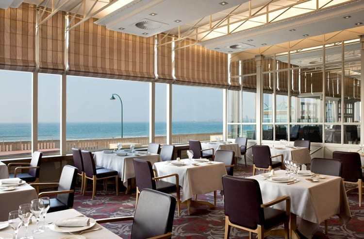 Cap Horn Restaurant at the Grand Hotel des Thermes in Saint Malo
