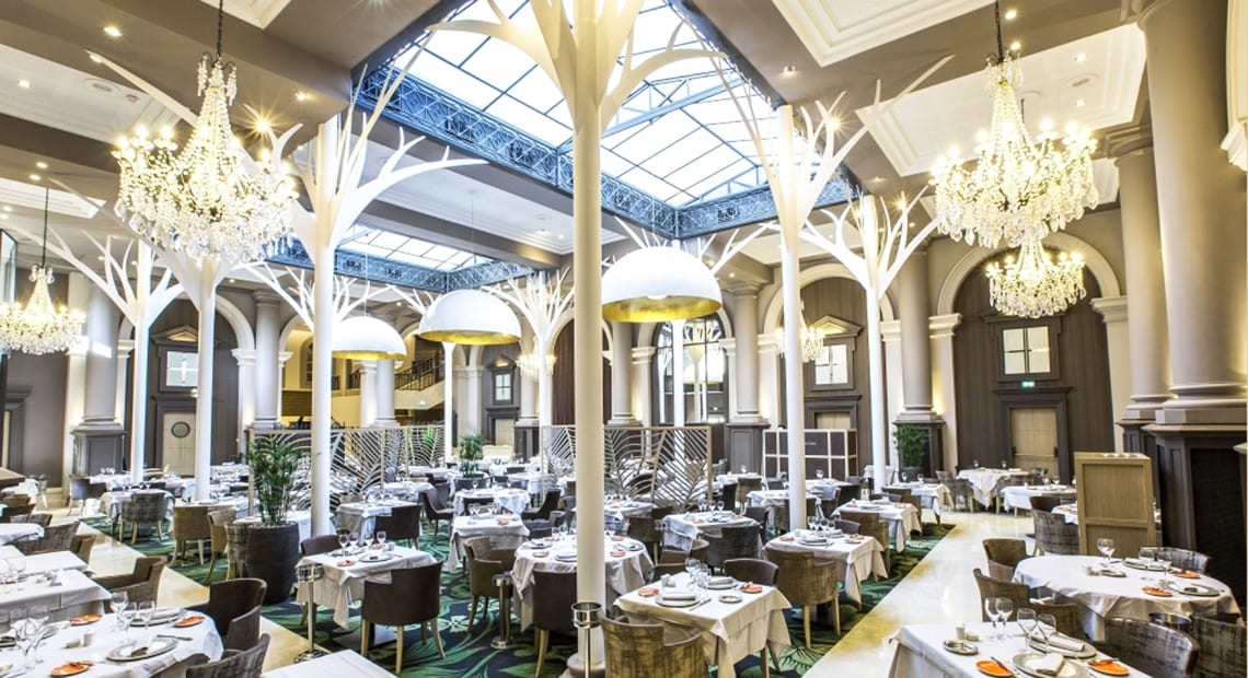 The Verriere Restaurant at the Grand Hotel des Thermes in Saint Malo