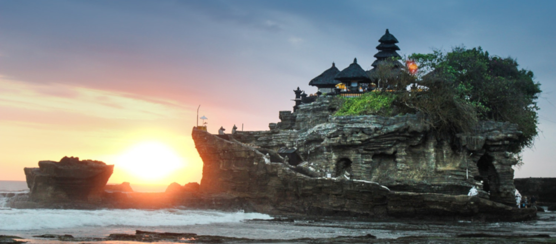 Pura Tanah Lot Temple at Sunset Bali Little Guest Hotels Collection