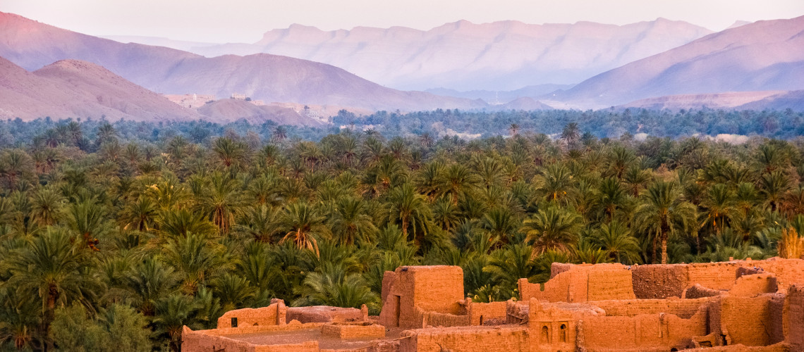The amazing landscape of Morocco