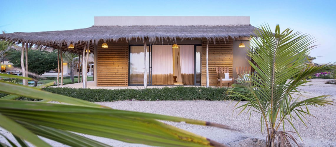 The superb family residence at Patrick's Lodge in Senegal