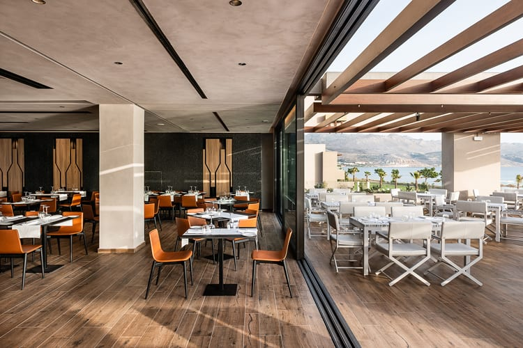 Euphoria Resort in Crete: restaurant