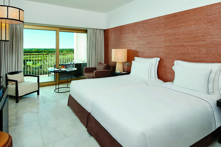One of the Anantara Vilamoura Algarve Resort bedrooms
