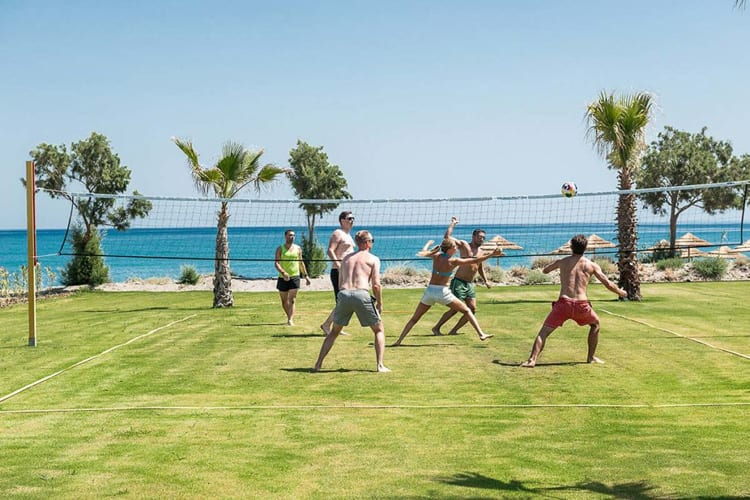 Euphoria Resort in Crete: beach volley