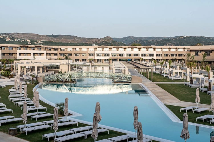 Euphoria Resort in Crete: view