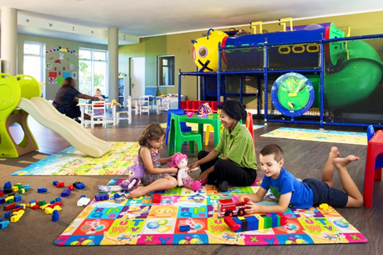 The amazing kids' club at Fancourt Hotel in South Africa