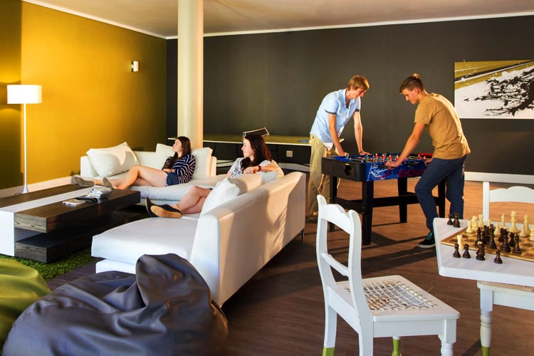 Teen Lounge at Fancourt Hotel in South Africa
