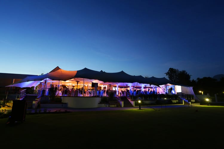Event at Fancourt Hotel in South Africa