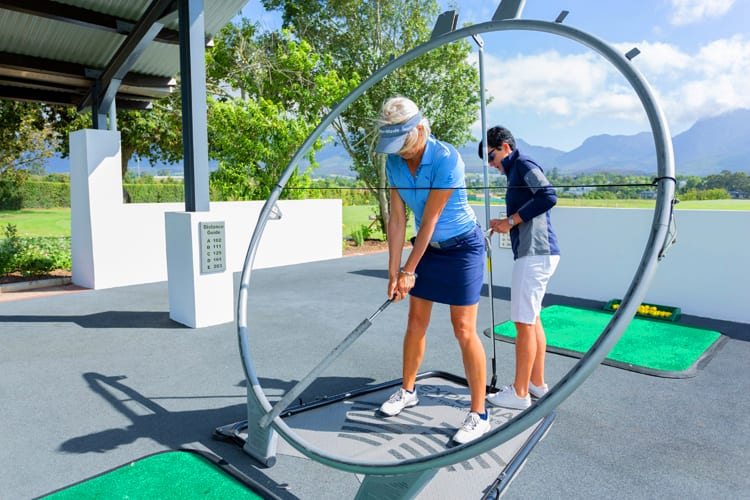 Golf lessons at Fancourt Hotel in South Africa