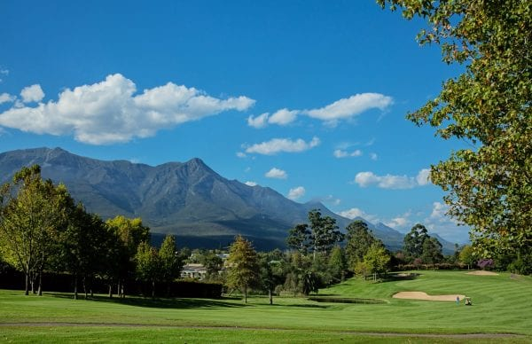 Golf course of Fancourt Hotel