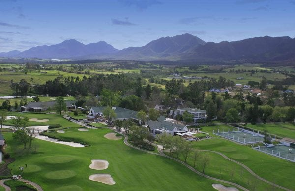 Golf courses of Fancourt Hotel