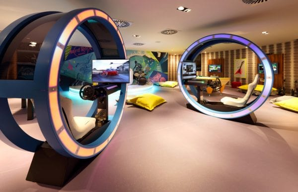 Little-Guest-Hotel-Collection-Hard-Rock-Hotel-Tenerife-Video-Games-Teen-Club