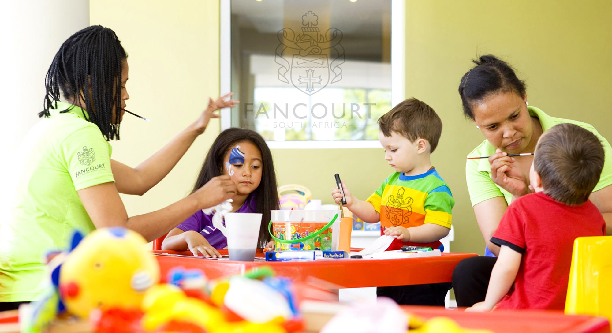 The amazing kids' club at the Fancourt Hotel in South Africa