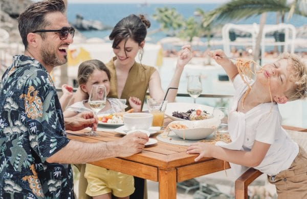 Little Guest Hotels Collection Hard Rock Hotel Tenerife Family Dinner