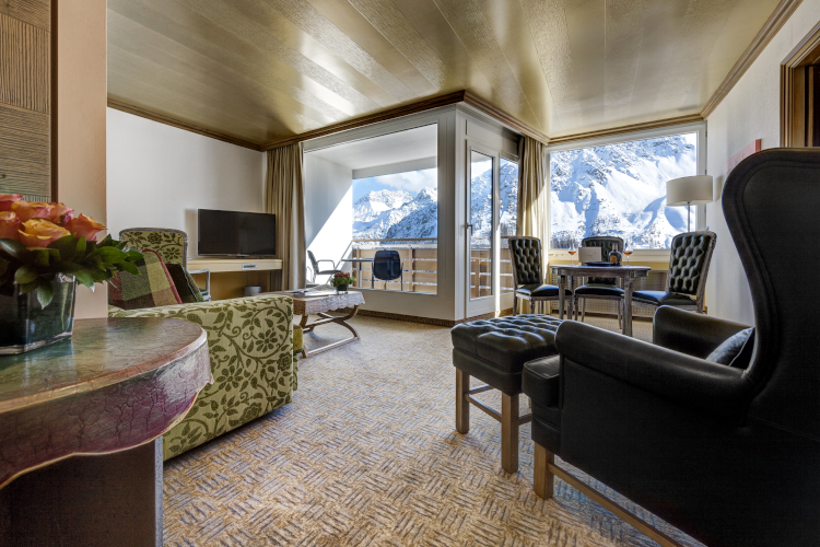 Little Guest Hotels Collection Tschuggen Mountain Suite