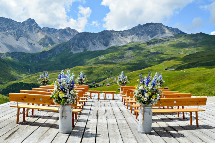 Little Guest Hotels Collection Tschuggen Mountain Wedding