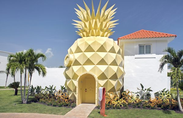 Pineapple house at Nickelodeon Hotels & Resorts Punta Cana