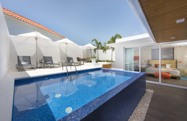Private pool at Nickelodeon Hotels & Resorts Punta Cana