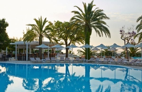 MarBella Corfu Swimming pool