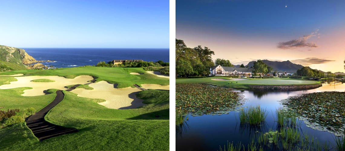 Fancourt Hotel at George in South Africa