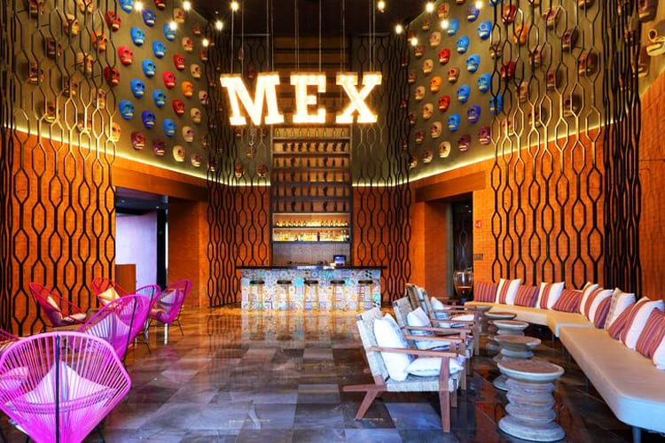 MEX restaurant at Grand Palladium Costa Mujeres Resort & Spa