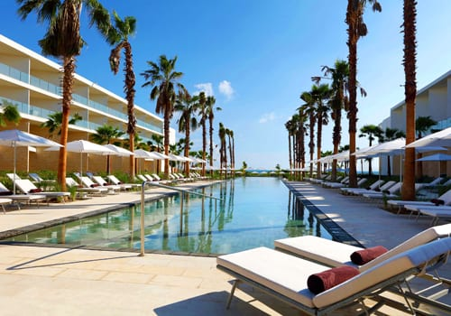 The amazing outdoor pool at Grand Palladium Costa Mujeres Resort & Spa in Mexico