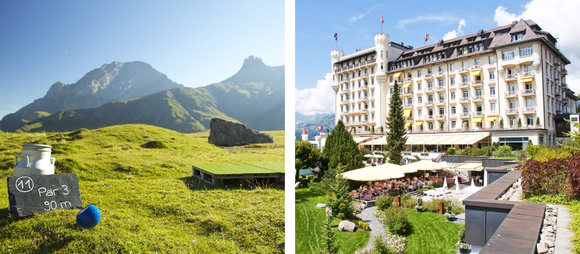 Gstaad Palace in Switzerland