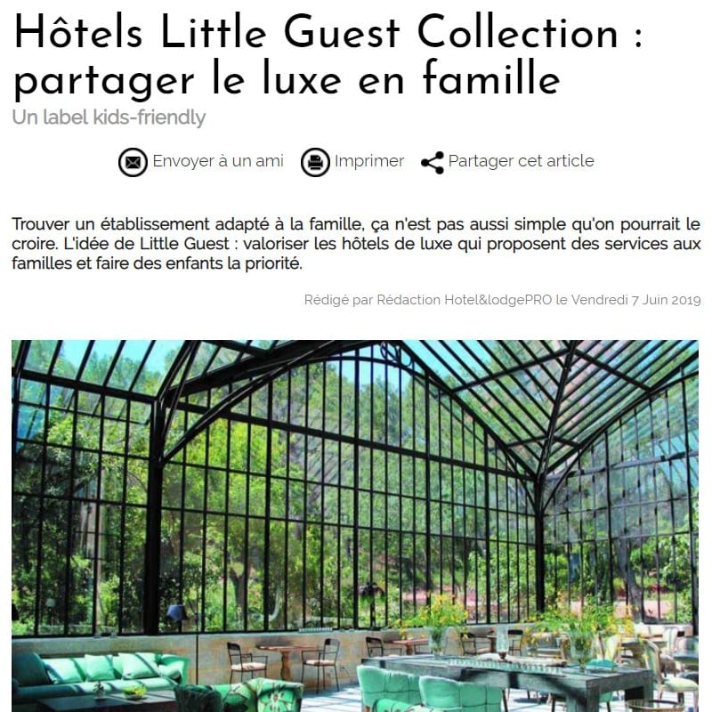 Little Guest Hotels Collection Hotel Lodge Pro