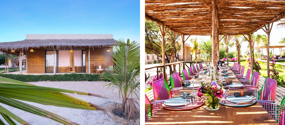 The amazing Patrick's Lodge hotel in Senegal